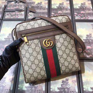 Man Gucci shoulder bagwallet Ophidia GG👀